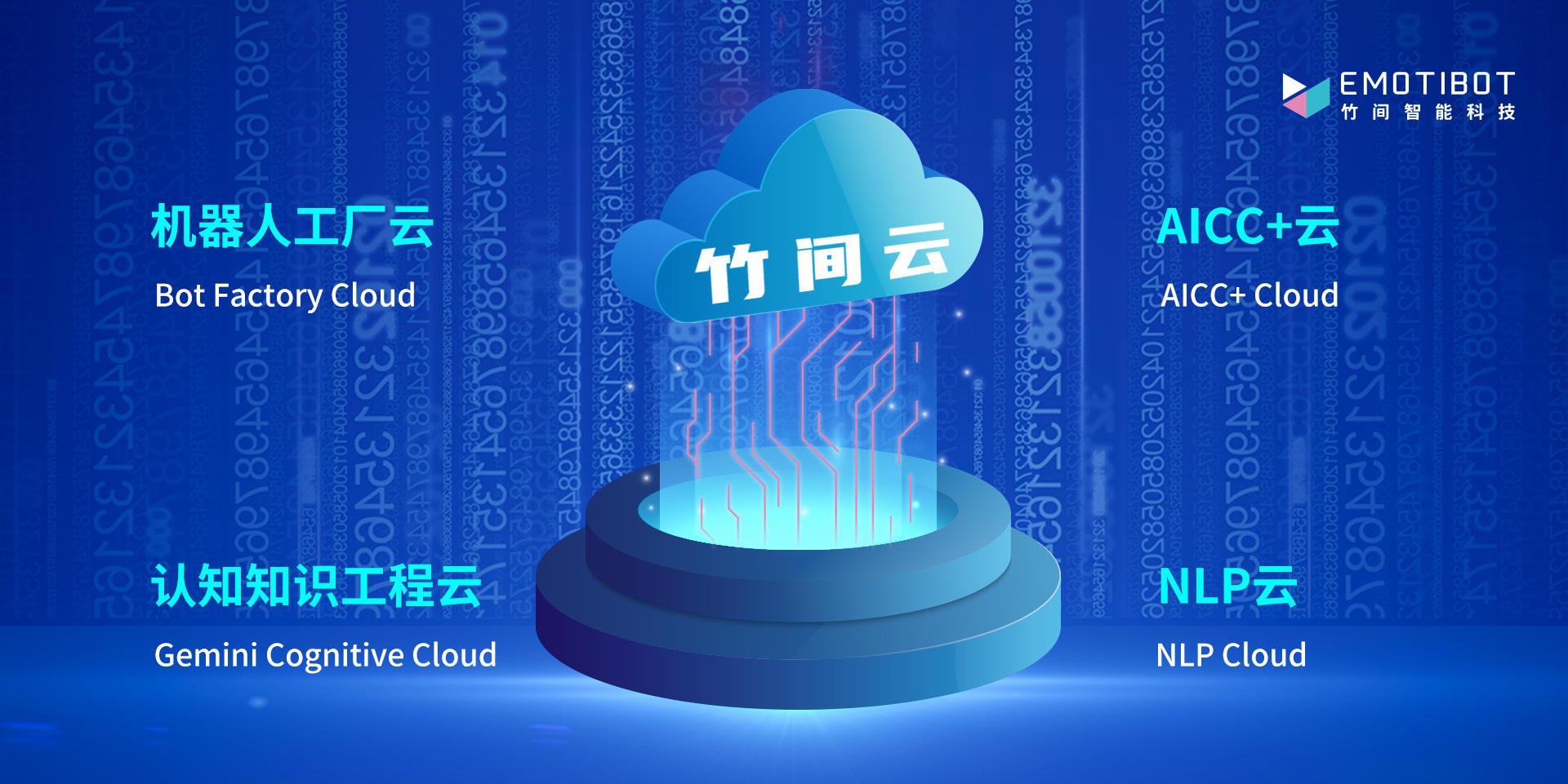 竹间智能完成1亿元人民币C+轮融资,推出「竹间云」Cloud AI